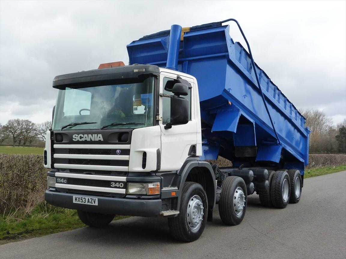 Scania P114c 340 8 X 4 Steel Body Tipper Truck Wiring Diagram Call Us 44 0 1270 522 322