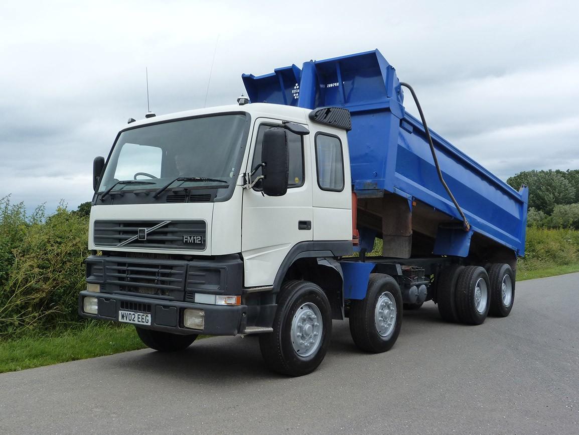 volvo fm12 340 8 x 4 steel body tipper rh sotrex com
