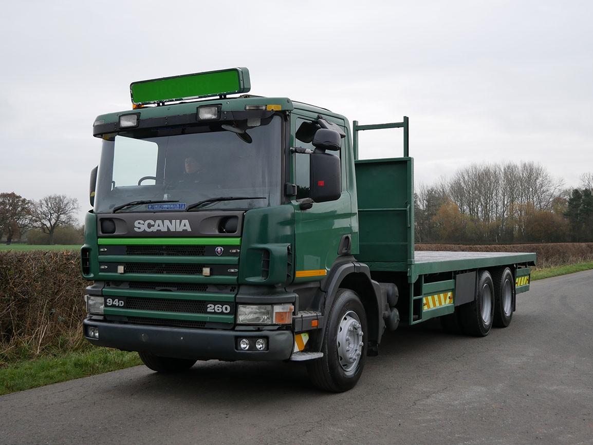 Scania P94d 260 6 X 2 Flat