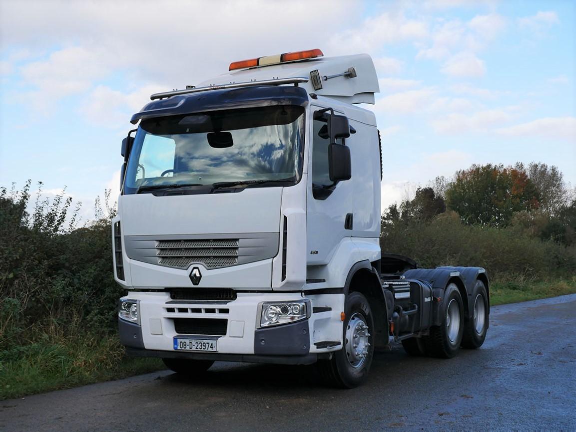 Renault Premium 450 DXI 6 X 4 Double Drive Tractor Unit