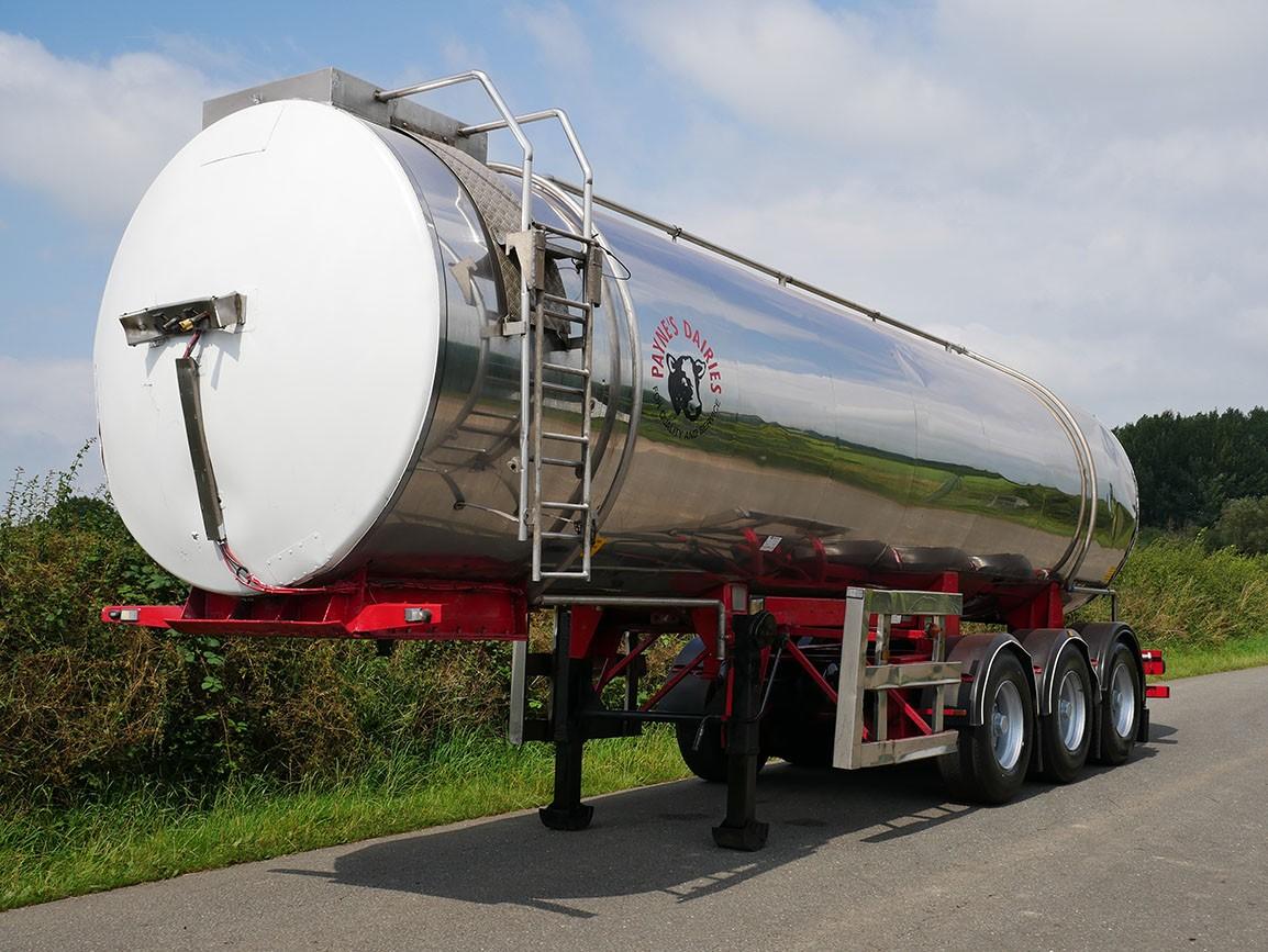 Magyar Tri Axle Stainless Steel Tanker