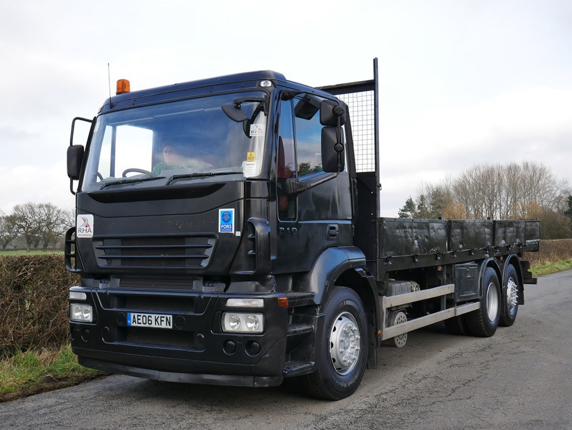 Iveco Stralis 310 6 X 2 Drop Side Flat