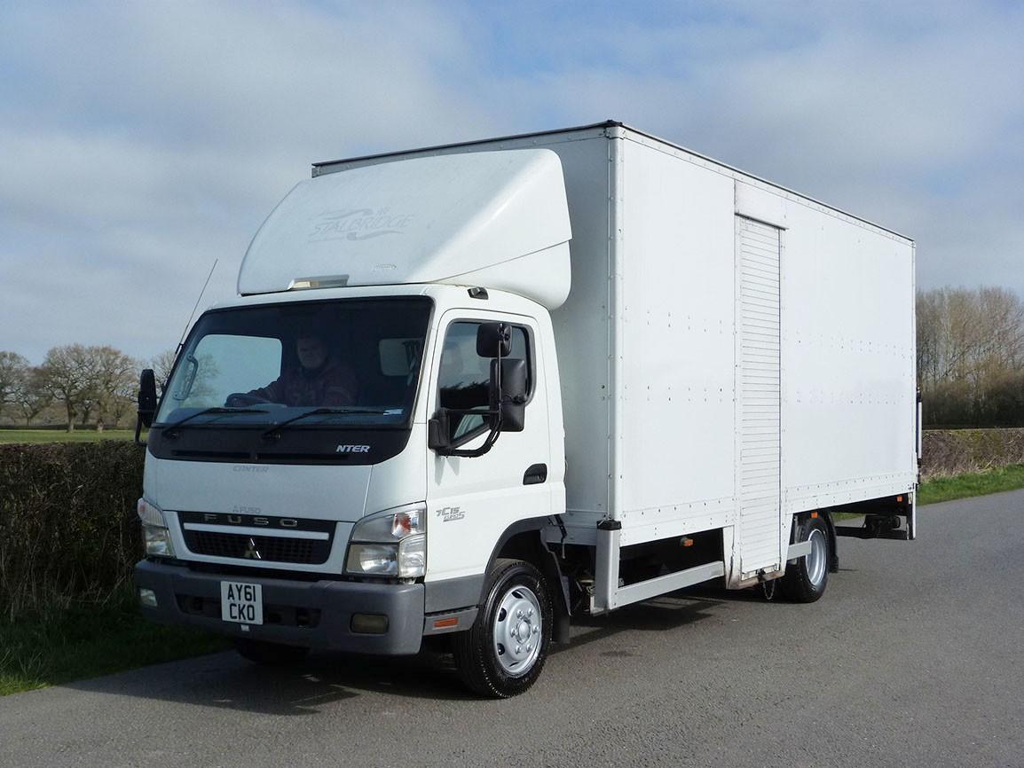 Mitsubishi Fuso Canter 7C15 4 X 2 Box Van