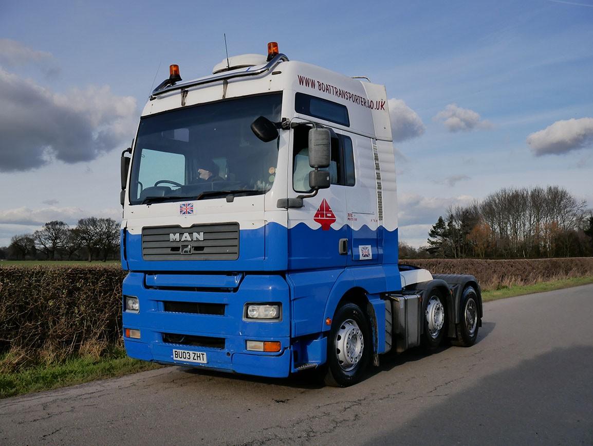 MAN TGA 460 6 X 2 Tractor Unit