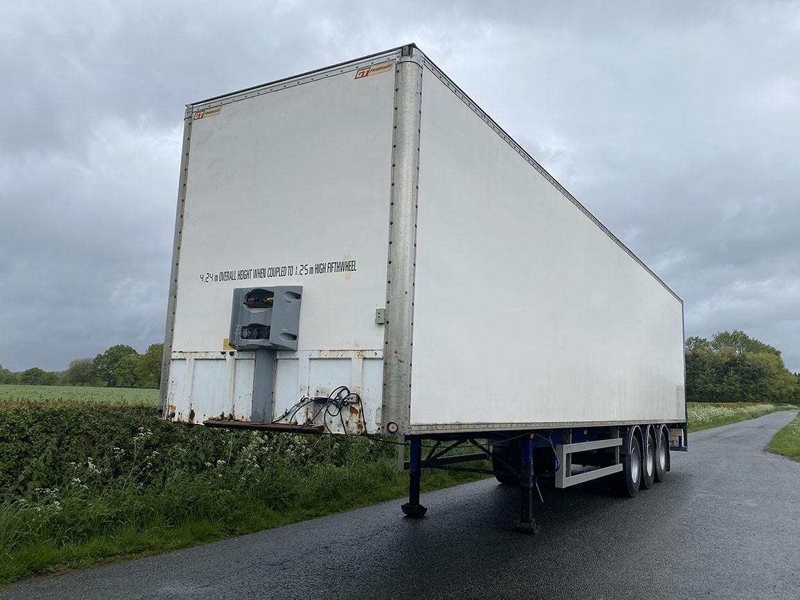 General Trailers Tri Axle Box Van