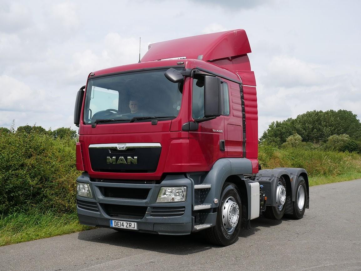 MAN TGS 26 440 6 X 2 Tractor Unit
