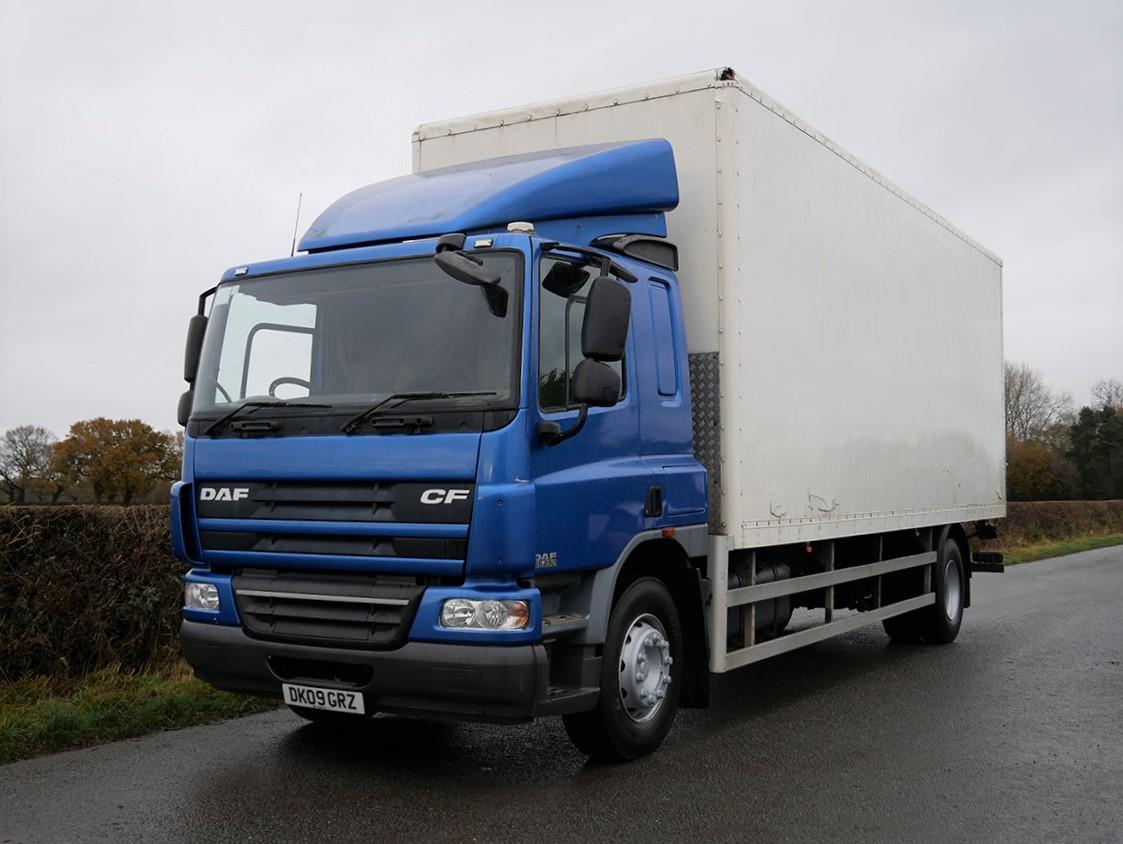 DAF CF 65 250 4 X 2 Box Van