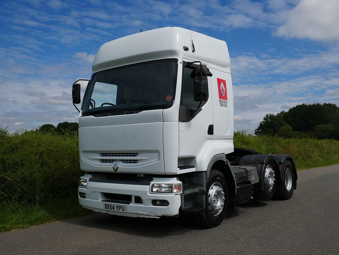 Renault Premium 420 CDI 6 X 2 Tractor Unit