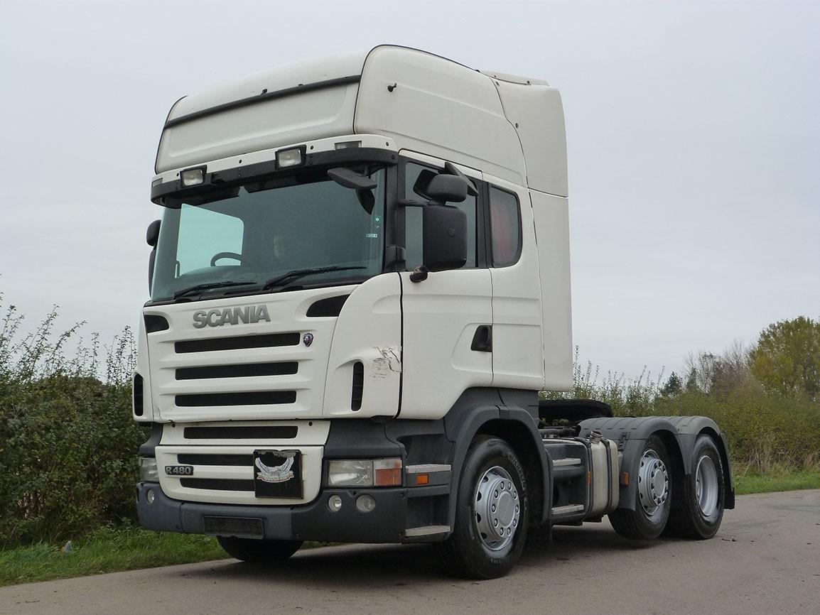 Scania R480 Topline 6 X 2 Tractor Unit