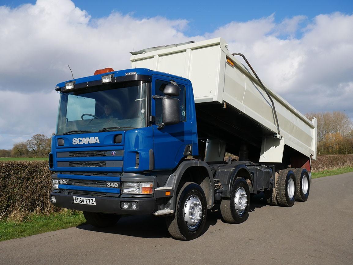 Scania 114 C 340 8 X 4 Steel Body Tipper