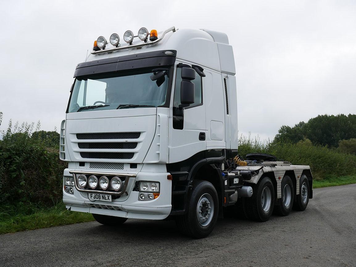 Iveco Stralis 500 8 X 4 Tractor Unit