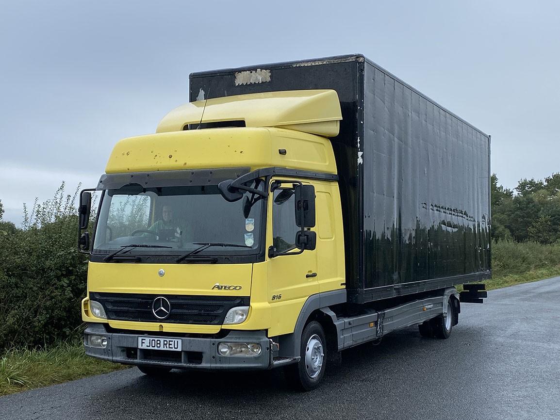 Mercedes Benz Atego 816 4 X 2 Box Van
