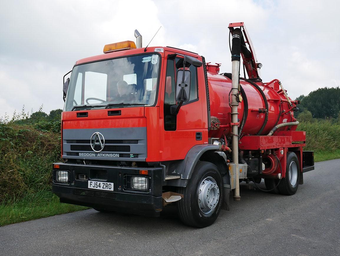 Seddon Atkinson 245 4 X 2 Vacuum Tanker