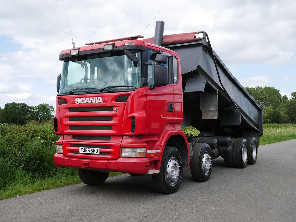 Scania R420 8 X 4 Steel Body Tipper