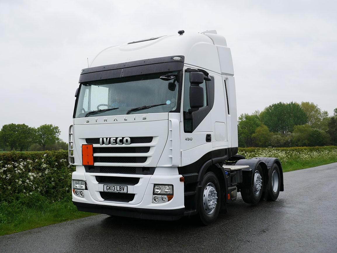 Iveco Stralis 450 EEV 6 X 2 Tractor Unit