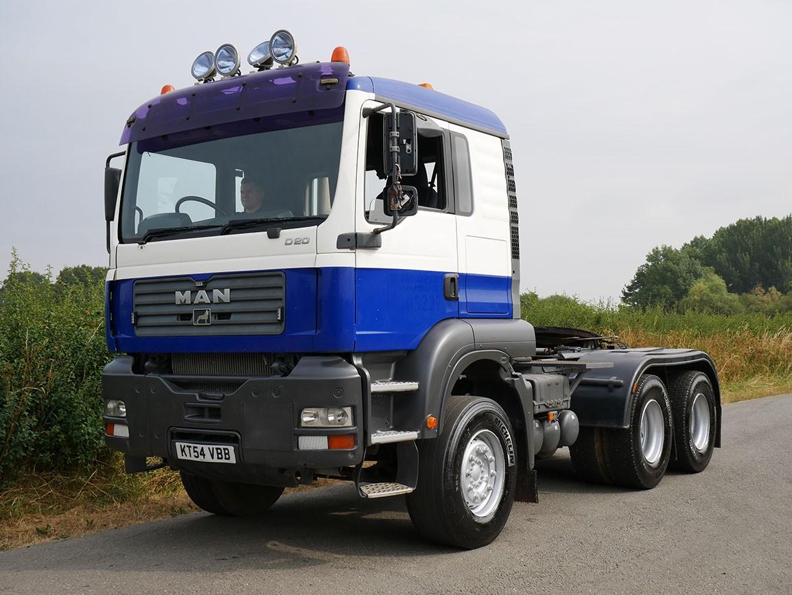 MAN TGA 6 X 4 Double Drive Tractor Unit
