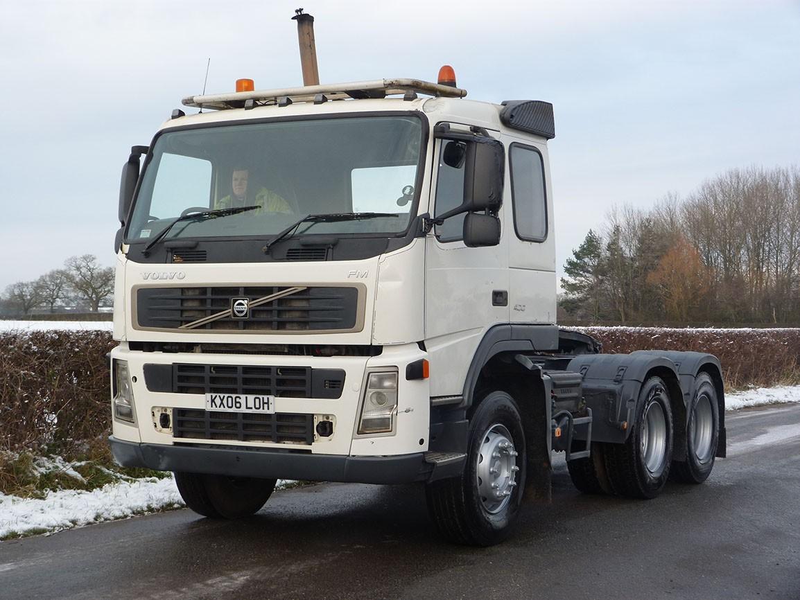 Volvo FM 13 400 6 X 4 Tractor Unit