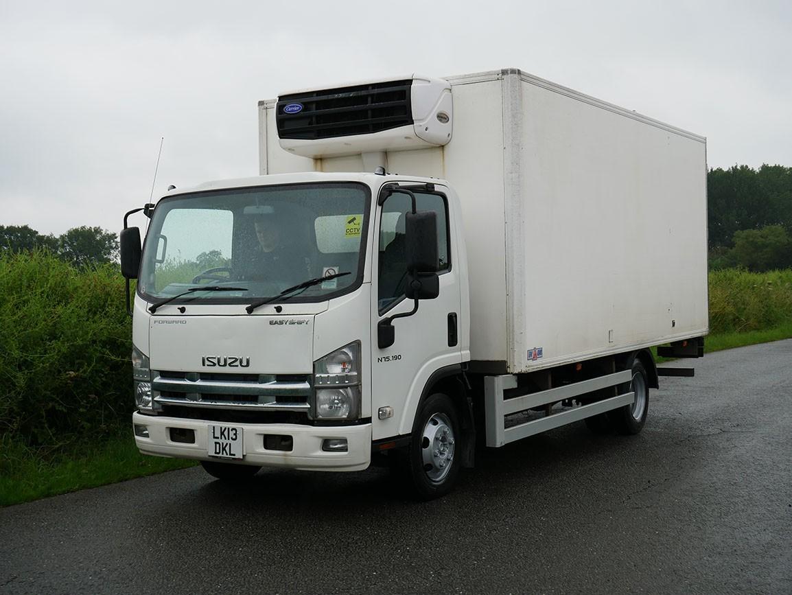 Isuzu Forward N75 190 4 X 2 Fridge Box