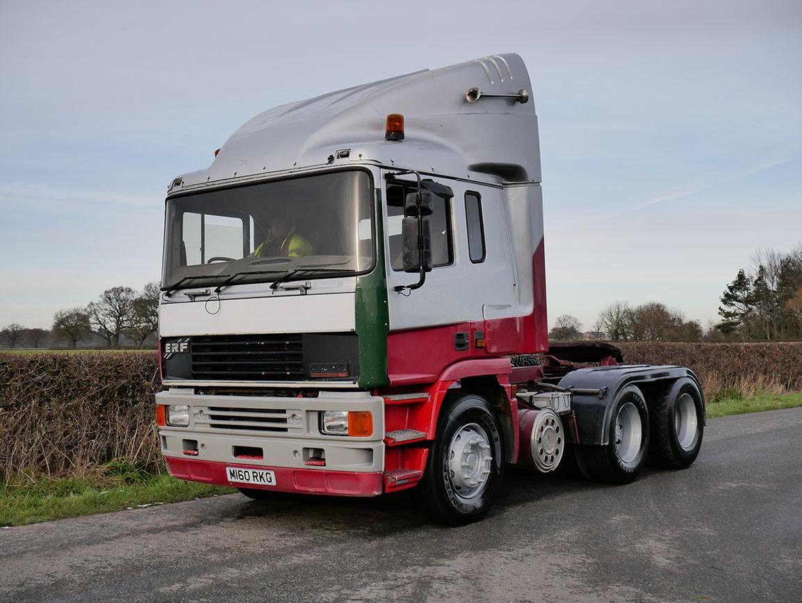 ERF EC 14 500 6 X 4 Tractor Unit