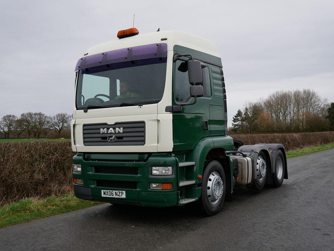 MAN TGA 26 430 6 X 2 Tractor Unit