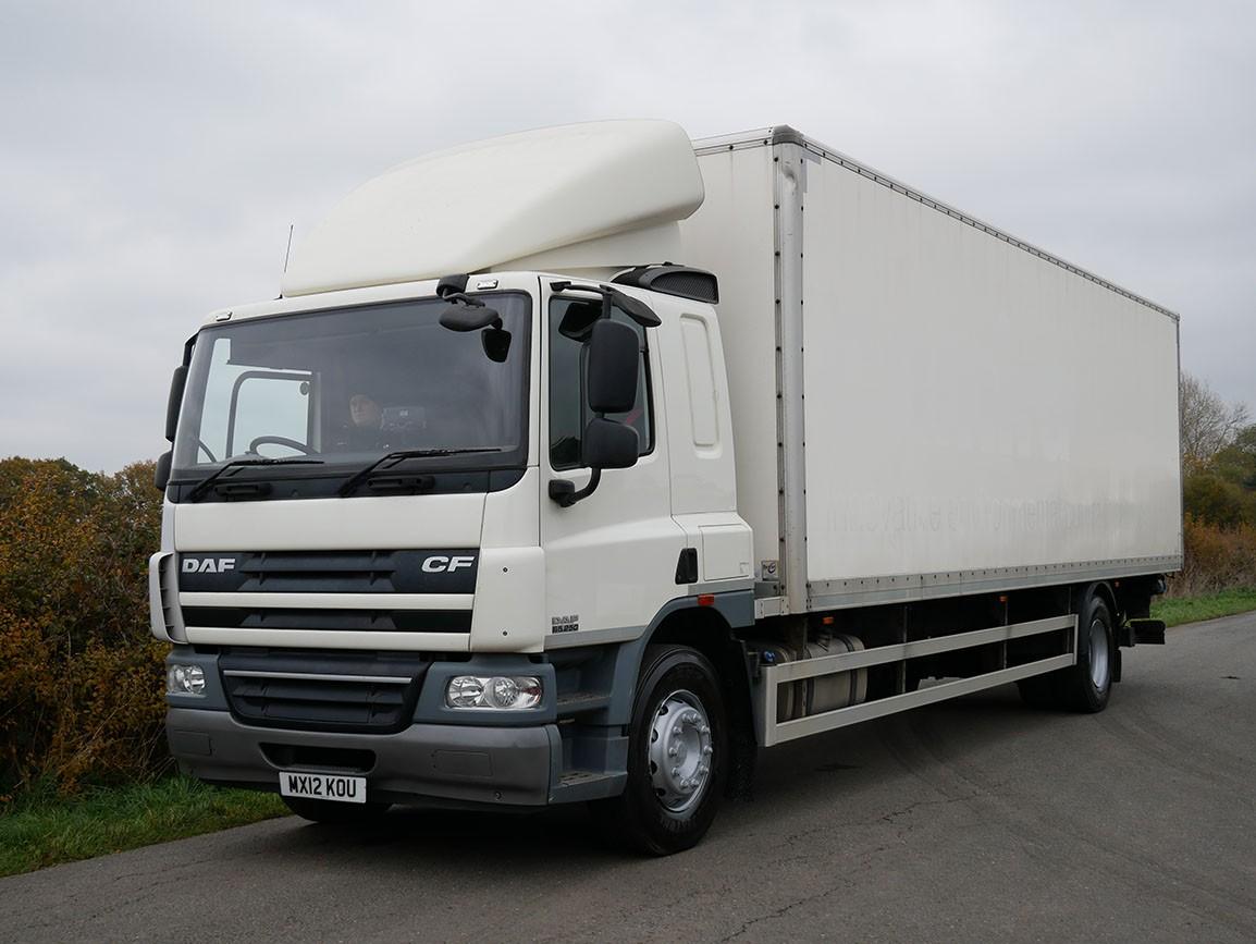 DAF CF 65 220 4 X 4 Box Van