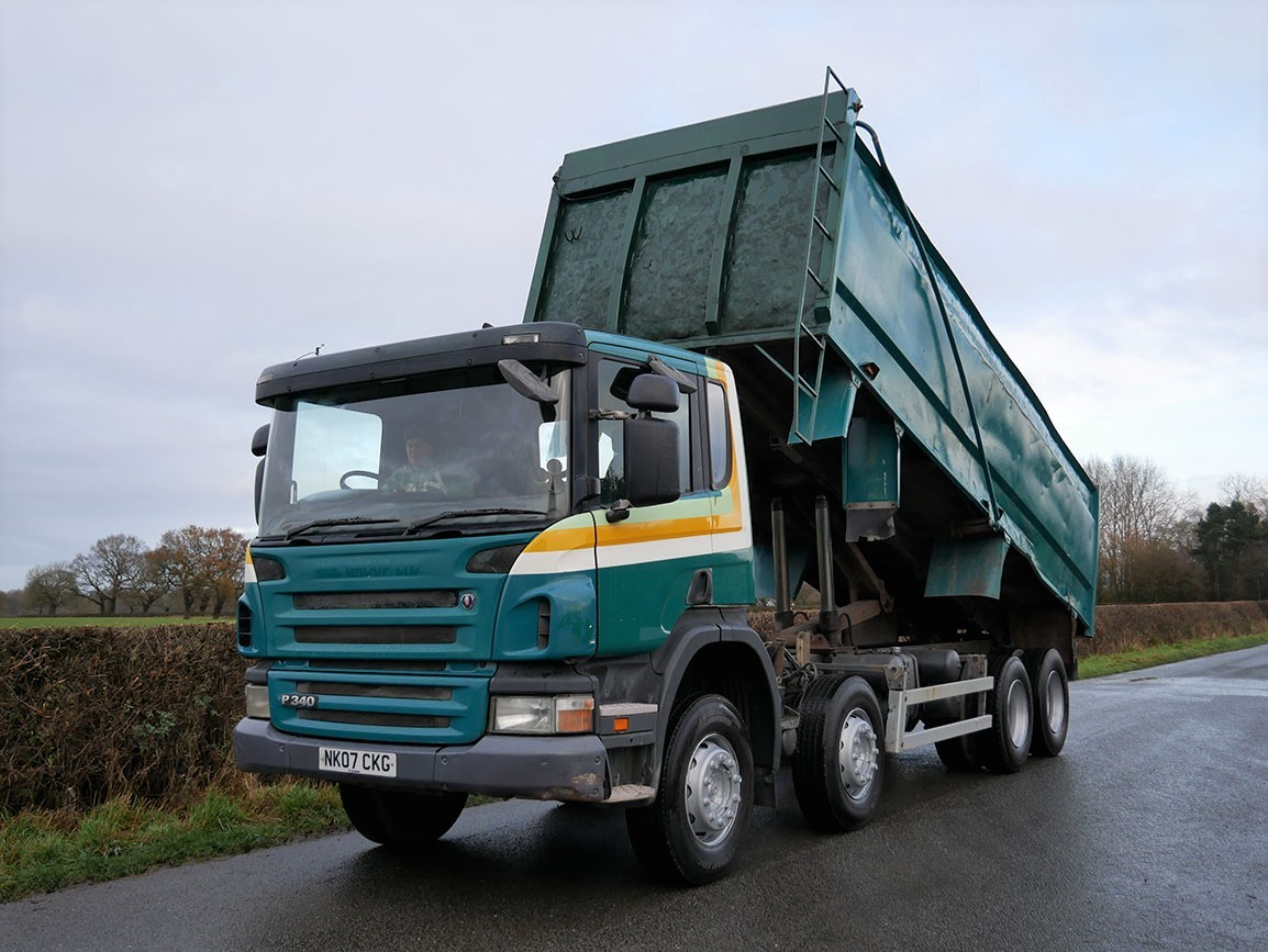 Scania P340 8 X 4 Tipper - Mining Specification