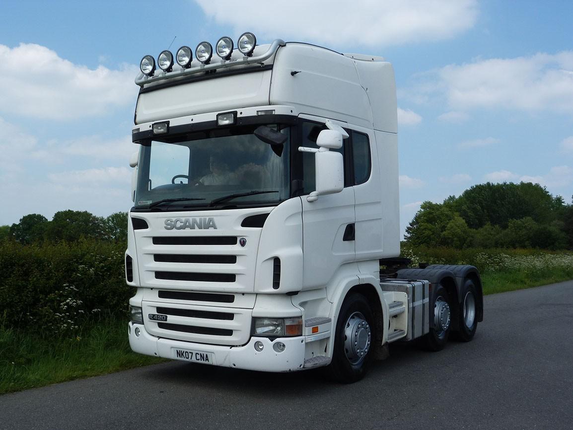 Scania R420 Topline 6 X 2 Tractor Unit