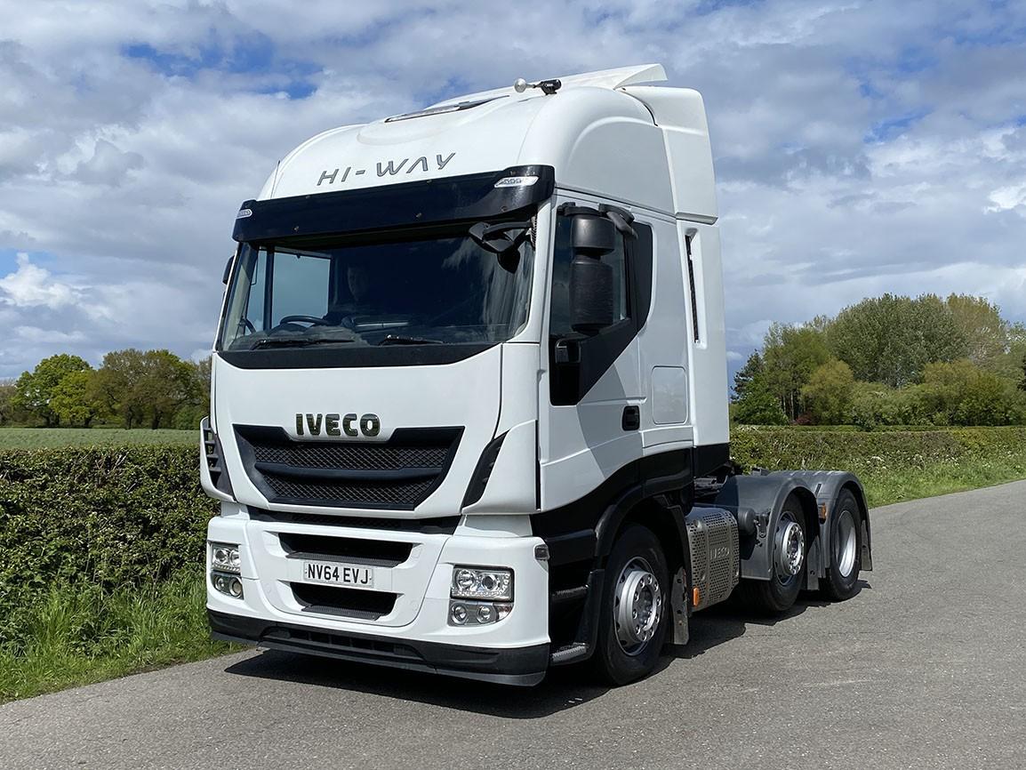 Iveco Stralis 460 6 X 2 Tractor Unit