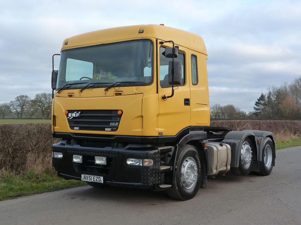 ERF ECX 6 X 2 Tractor Unit