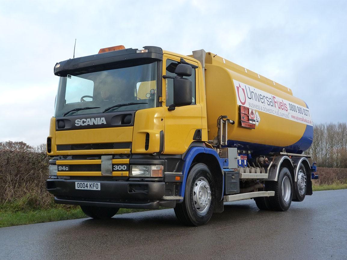 Scania P300 G 6 X 2 Fuel Tanker