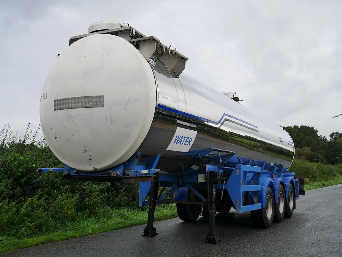 Melton Tri Axle Stainless Steel Tanker