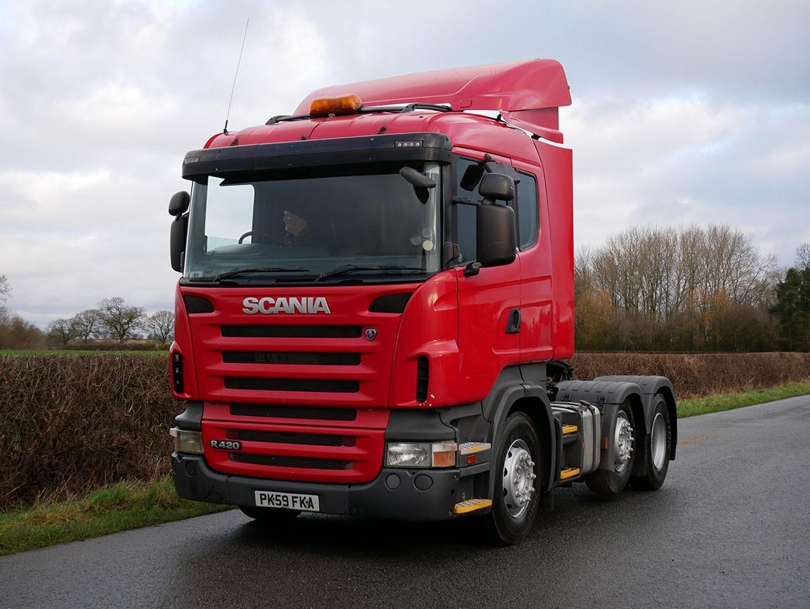 Scania R420 6 X 2 Tractor Unit