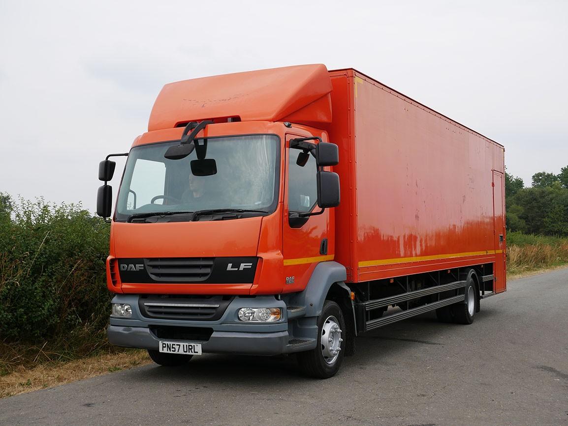DAF LF 55 180 4 X 2 Box Van