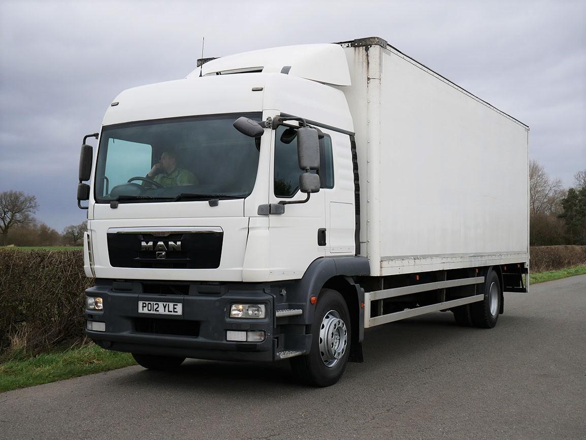 MAN TGM 18 250 4 X 2 Box Van