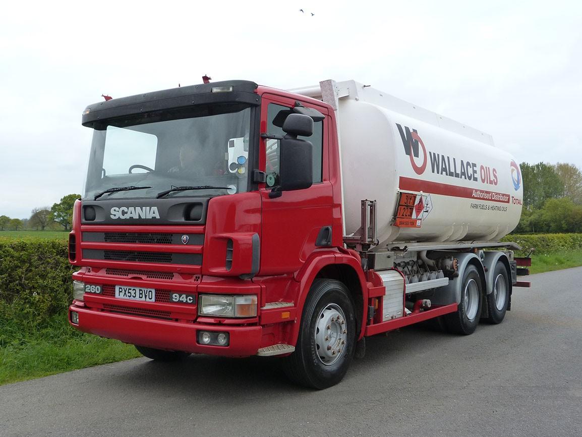 Scania P94c 260 6 X 4 Fuel Tanker