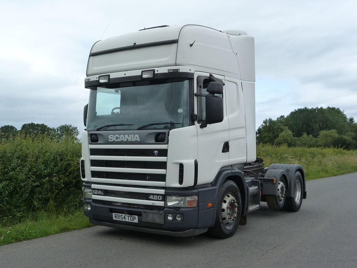 Scania 124 420 Topline 6 X 2 Tractor Unit