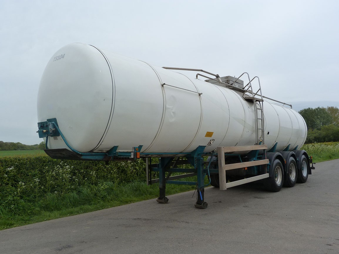 Indox Ros Roca Tri Axle 30000 Ltr Milk / Water Tanker - Choice 1 of 2