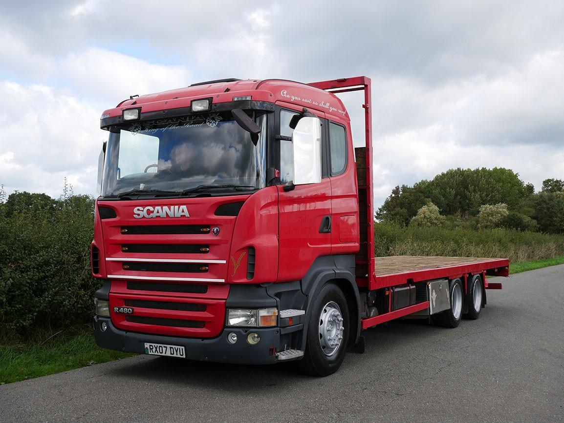 Scania R480 6 X 2 Flat