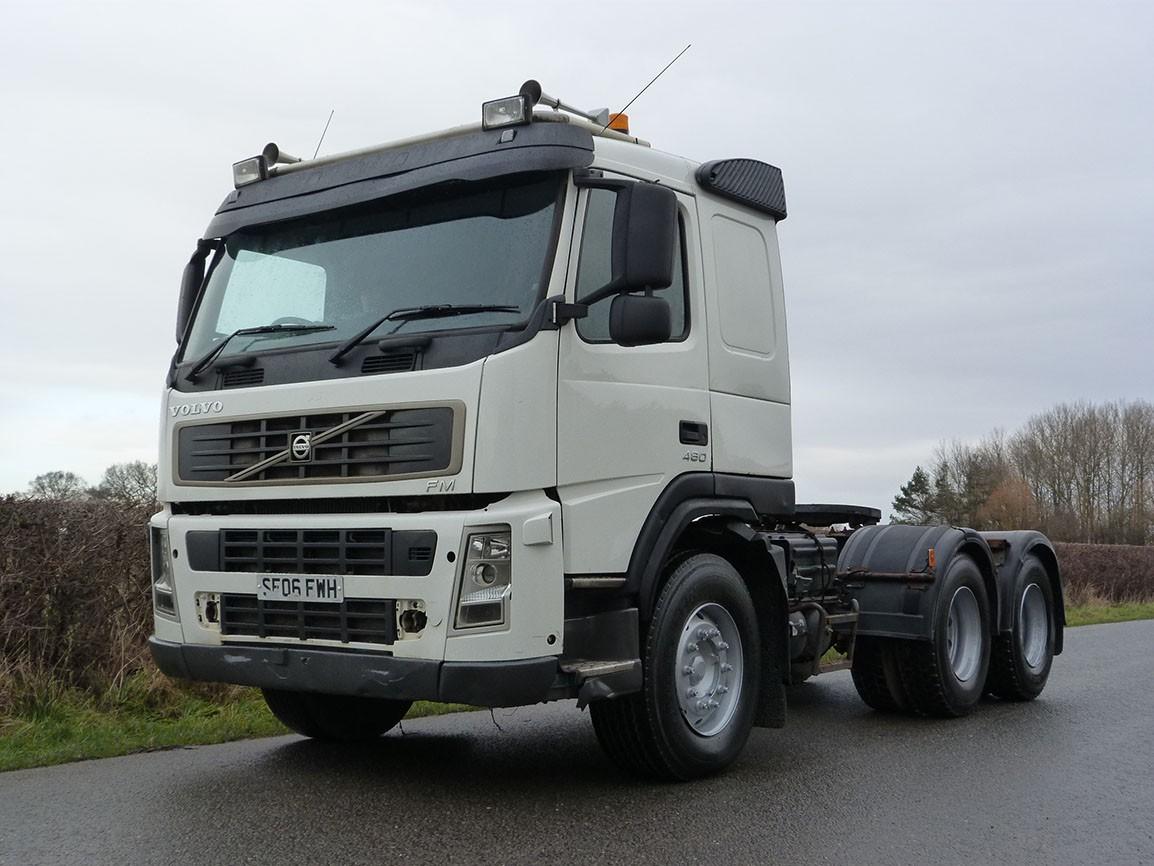 Volvo FM 13 480 6 X 4 Tractor Unit