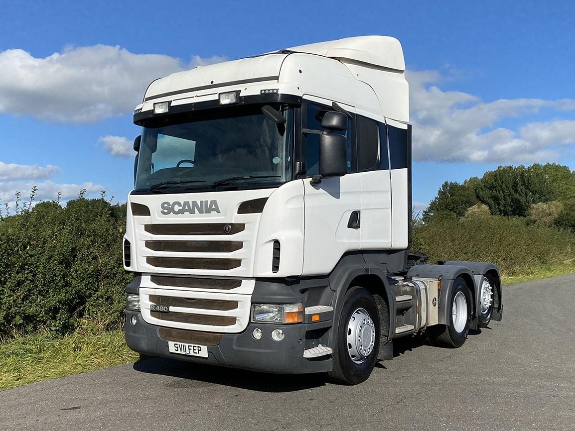 Scania R480 6 X 2 High Line Rear Lift Tractor Unit