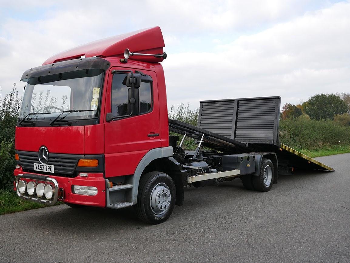Mercedes Benz Atego 1223 4 X 2 Tilt & Slide Recovery Truck