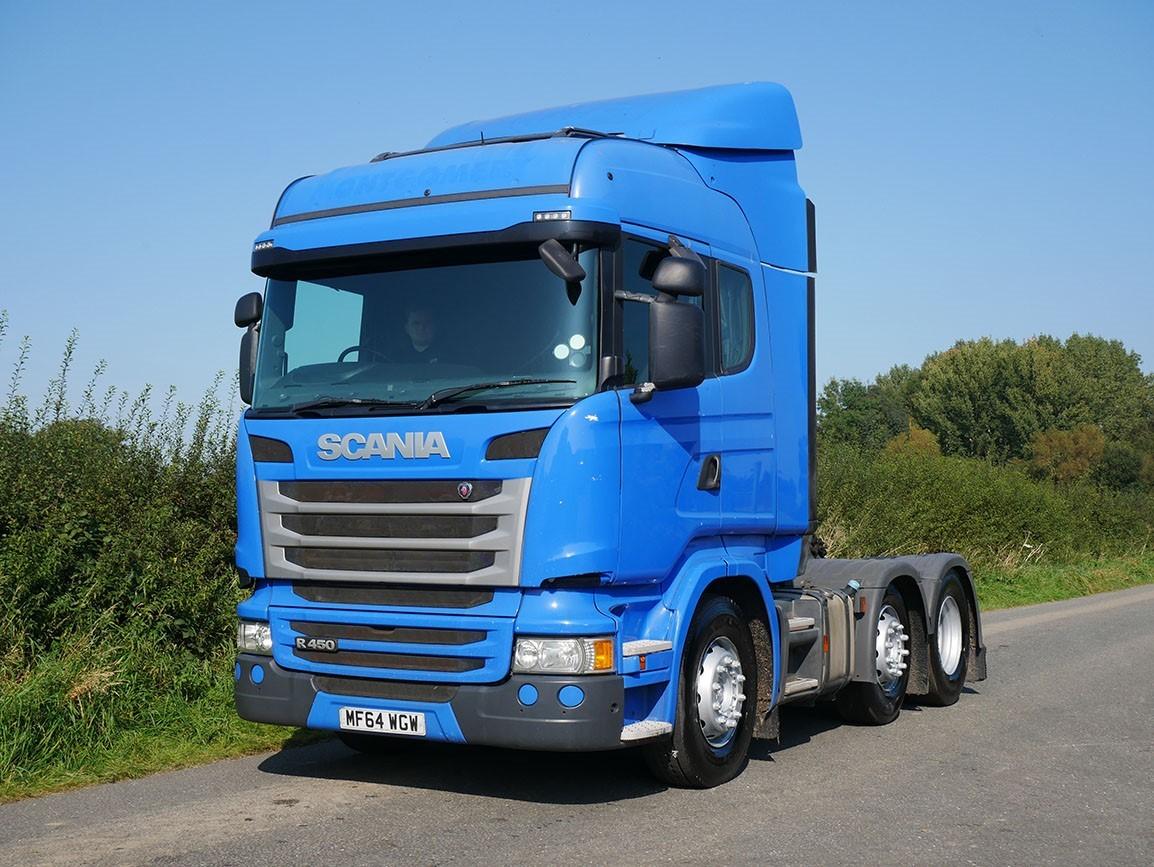 Scania R450 6 X 2 Tractor Unit