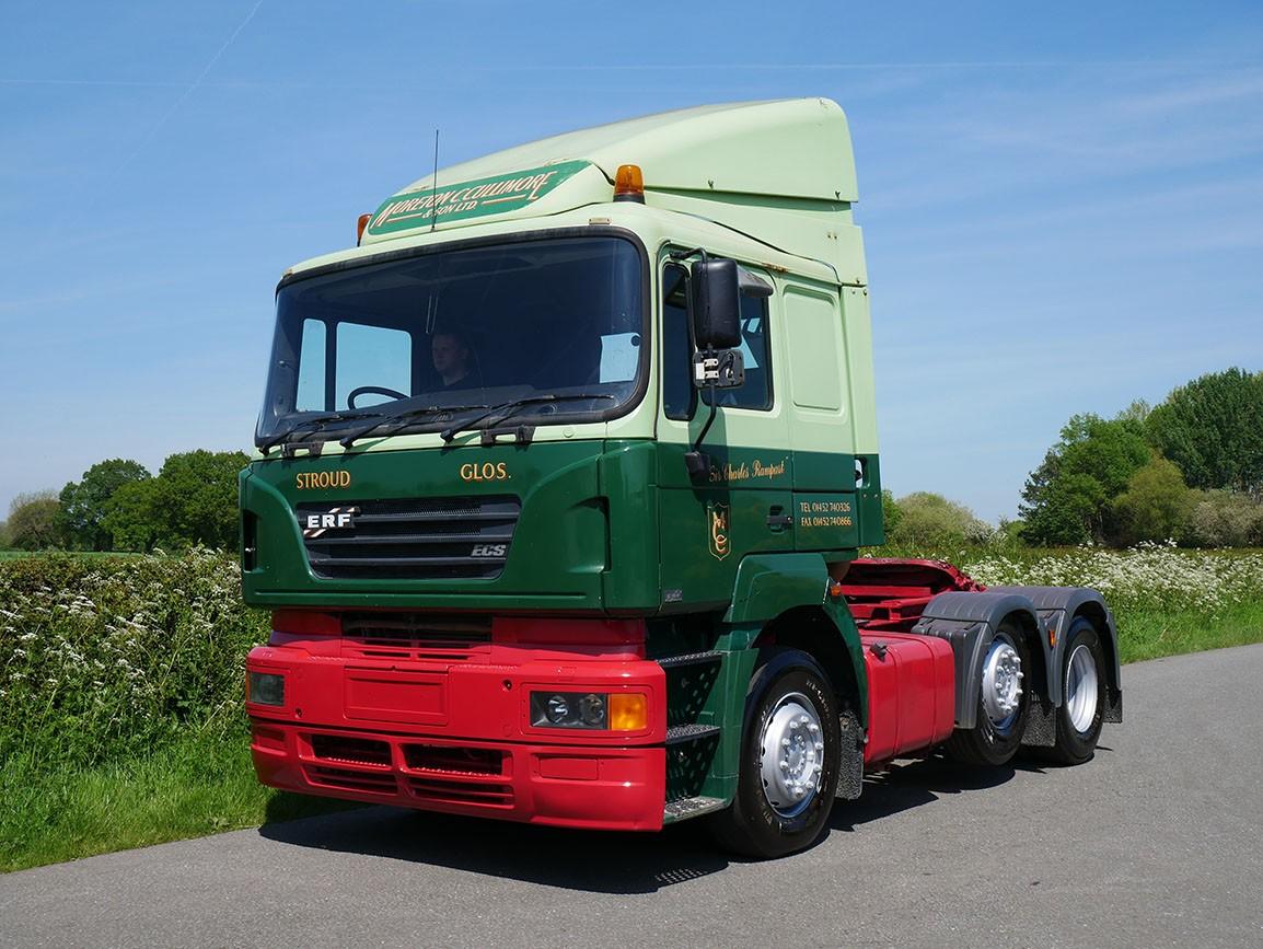ERF ECS 11 6 X 2 Tractor Unit