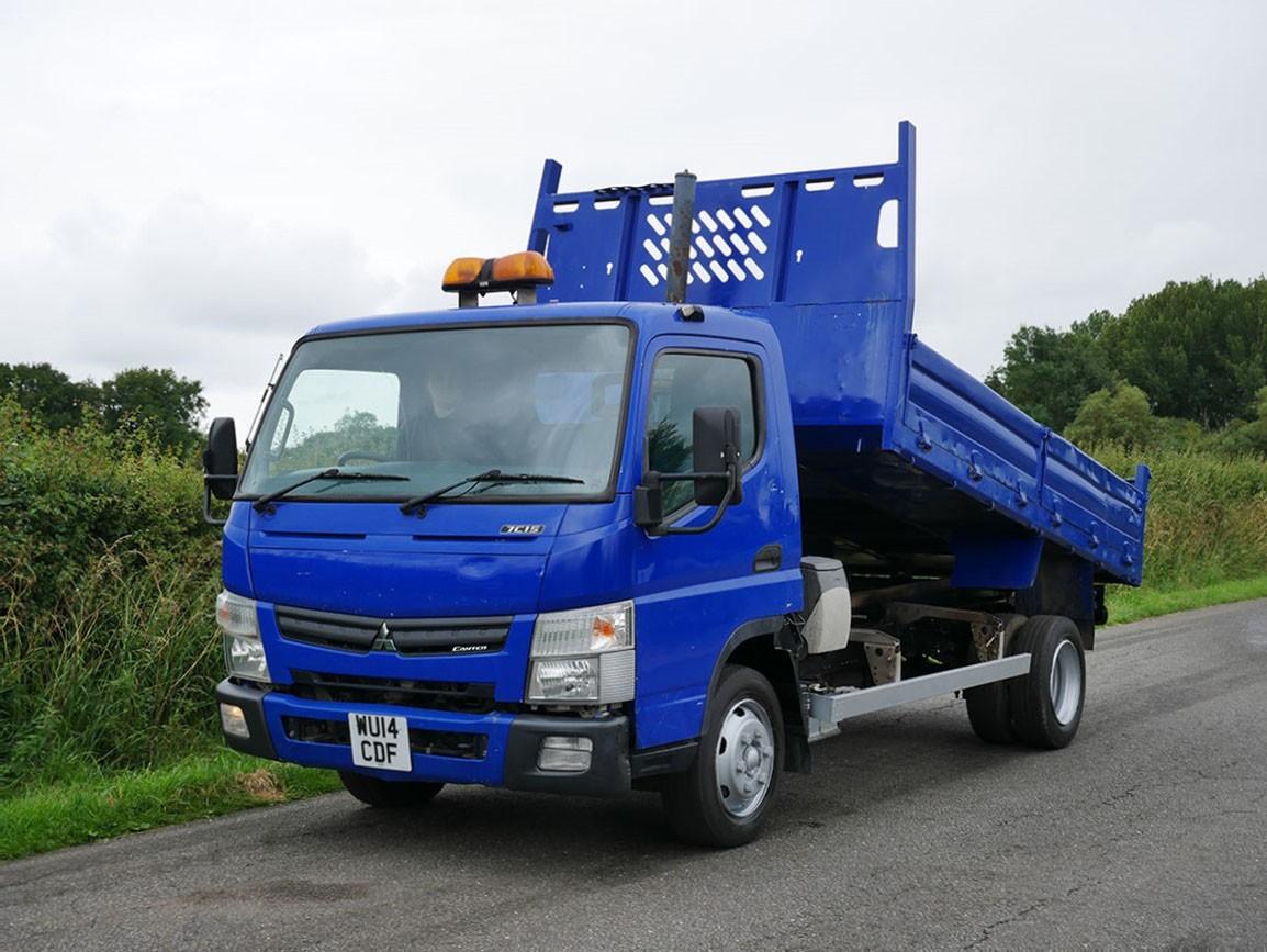 Mitsubishi Canter 7C15 4 X 2 Tipper 3.0