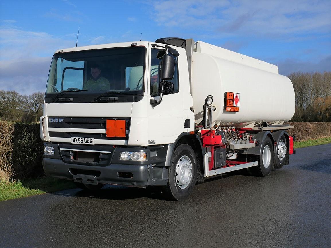 DAF CF 75 310 6 X 2 Fuel Tanker