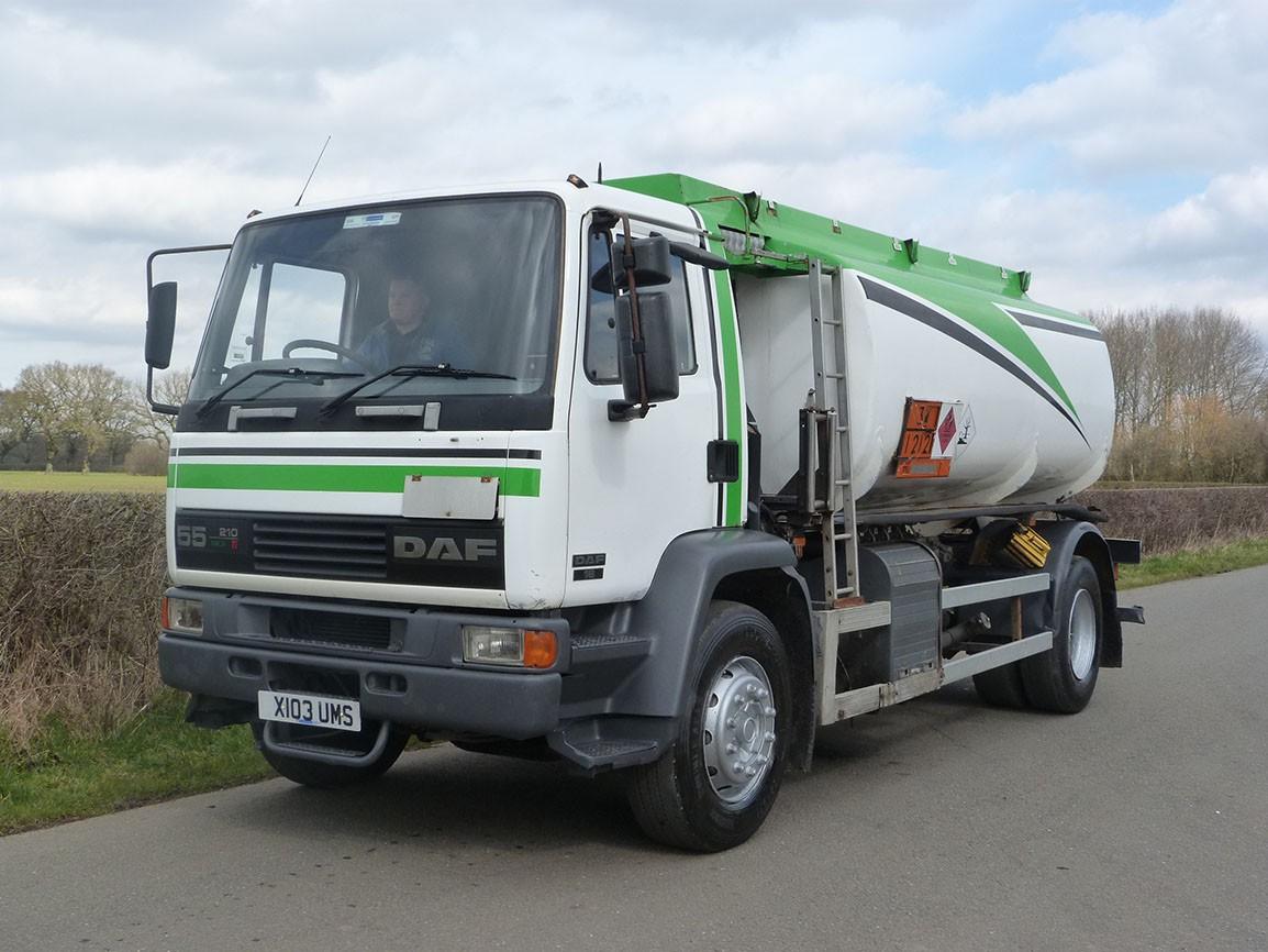 DAF FA 55 210 4 X 2 Fuel Tanker
