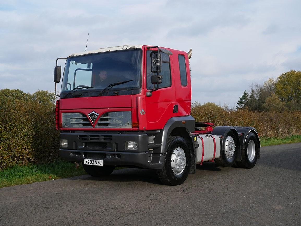Foden Alpha 3000 6 X 2 Tractor Unit