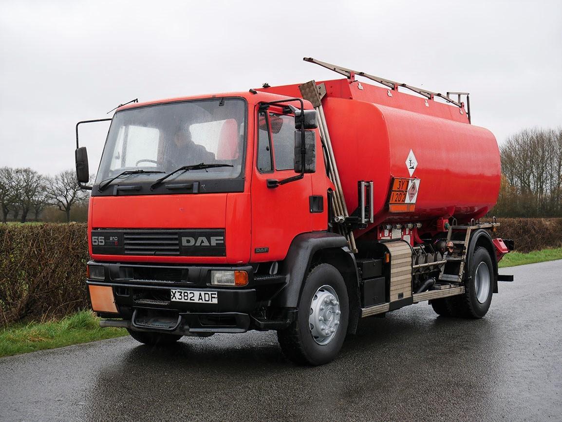 DAF 55 210 4 X 2 Fuel Tanker