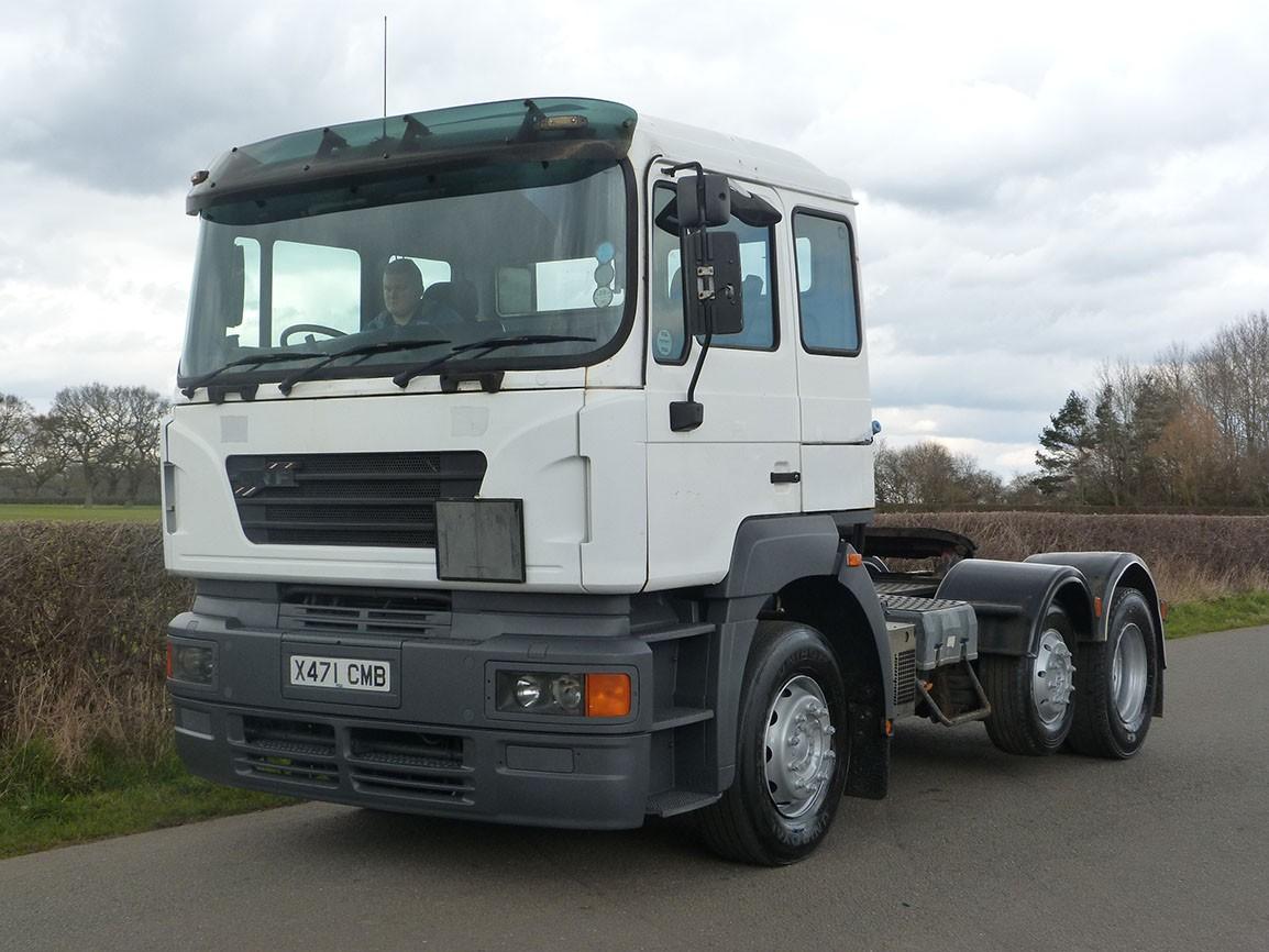 ERF ECS 405 6 X 2 Tractor Unit