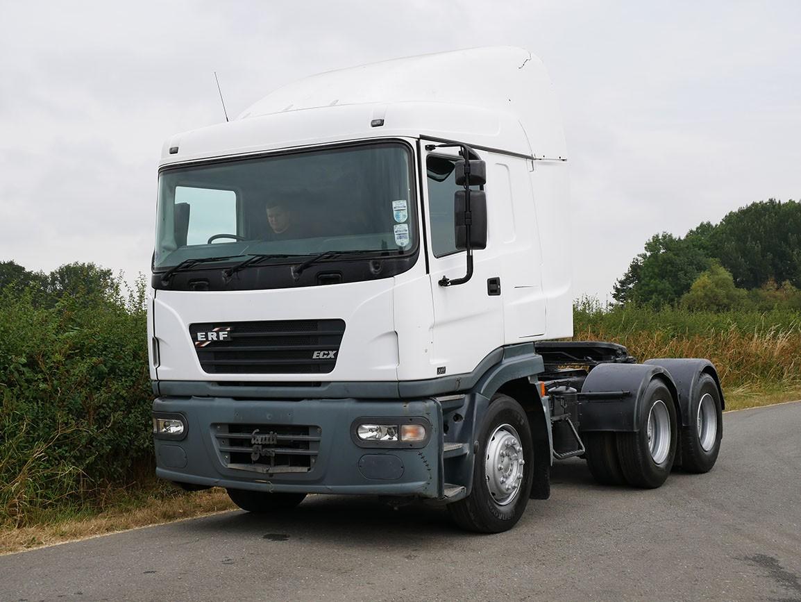 ERF ECX 11 420 6 X 4 Double Drive Tractor Unit